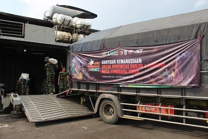 Dari Surabaya, KRI Tanjung Kambani Siap Layarkan Bantuan Kemanusiaan ACT ke NTT