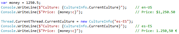 String interpolation culture in C#