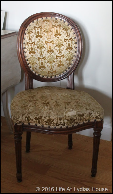 pagoda chair before (front)