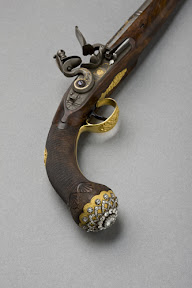 Pistol from the set presented to Nikolas I Empire of Mahmoud, 1833.