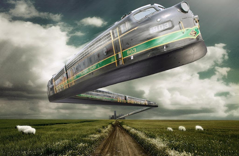 Train Of Future, Fiction 2
