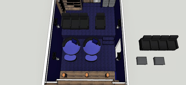 Rudell Theater Room Seating