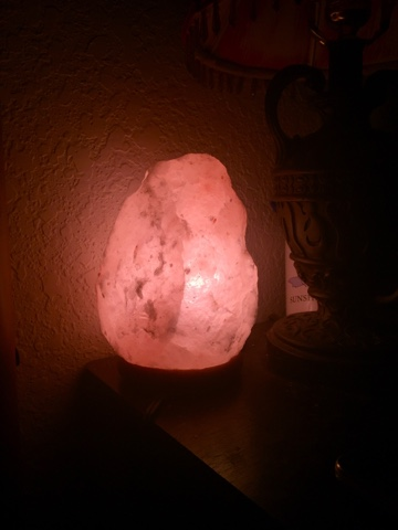 Do Salt Lamps Attract Dust : Himalayan Salt Lamp with Genuine Neem Wood Base ~ The Dias Family Adventures