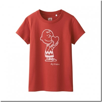 Uniqlo UT WOMEN Peanuts Short Sleeve Graphic T-Shirt 04