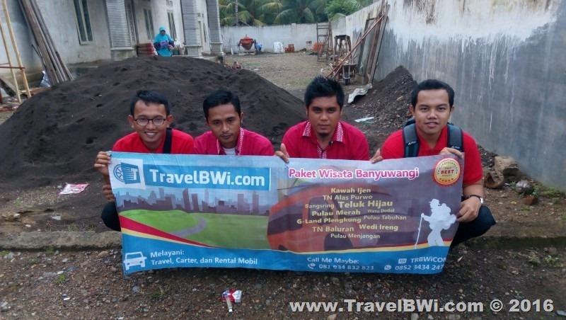 Paket Tour Wisata 2h1m Banyuwangi Selatan - PT Angkasa Pura Juanda Surabaya - Guide dan Driver