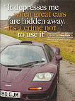 Classic and Sports Car magazine - Rowan Atkinson Mclaren F1 Special - Page 2 - It depresses me when great cars are hidden away, it is a crime not to use it.