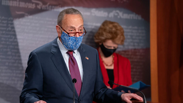 Schumer, Asked About Judiciary Committee, Says He's Had 'Long And Serious Talk' With Feinstein