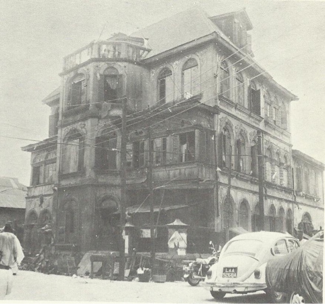 first 3 storey building in Lagos