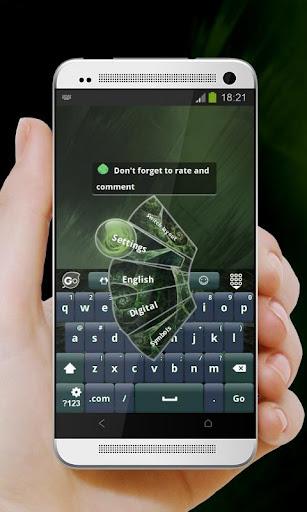 玩免費個人化APP|下載抽象葉Chūshō ha GO Keyboard app不用錢|硬是要APP