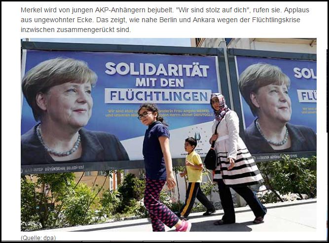 AKP Merkel wir lieben dich