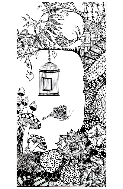 Coloringadultanimalsbirdbutterfly Free To Print