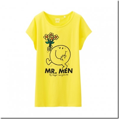 UNIQLO Mr. Men Little Miss UT Graphic T-Shirt woman 10