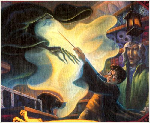 Harry Potter Book Illustrations : Byrominaperez mary grandpre