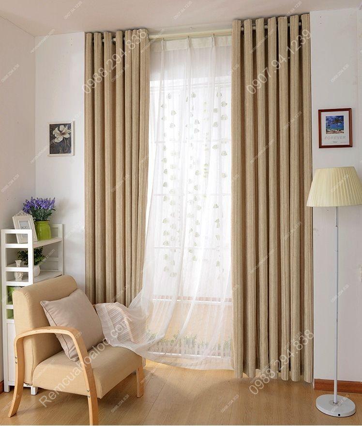 Rèm cửa đẹp ở hà nội một màu nhung lịch lãm 10
