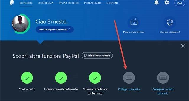 collegare-carta-credito-paypal