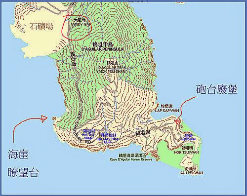 L J 的光影紀錄: 鶴咀-海崖瞭望臺