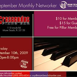 September Networker at Crescendos