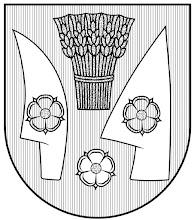 Photo: A címer rajza, jelezve a színezést