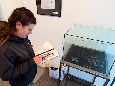 primera visita guiada a l'exposició