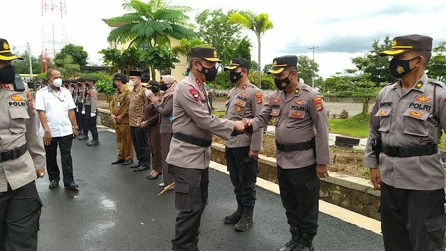 Kapolda Lampung Melakukan Kunjungan Kerja ke Polres Pesawaran