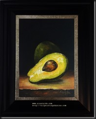 Avocado framed