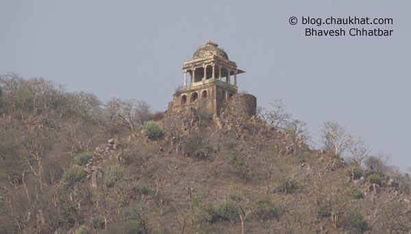 Bhangarh - Tantrik Chhatri [Umbrella]