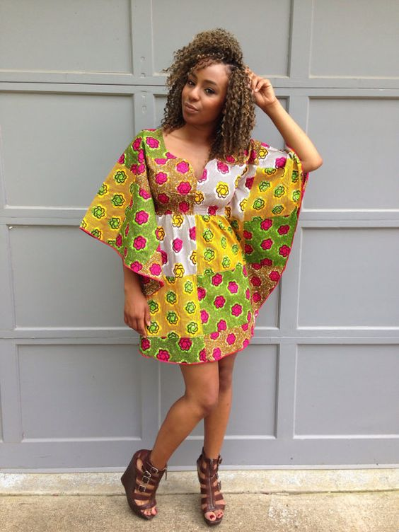 Latest African Short Maxi Dresses For Woman 1