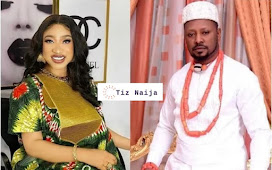 Tonto Dikeh and her new found love breaks up over a viral voice note badmouthing the actress | Tiz Naija