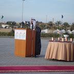 Su Alteza Real, Bin Mohamed Al Quasimi, Emir de Sharjah, Jefe de Honor de los Scouts Emiratís y patrocinador del evento