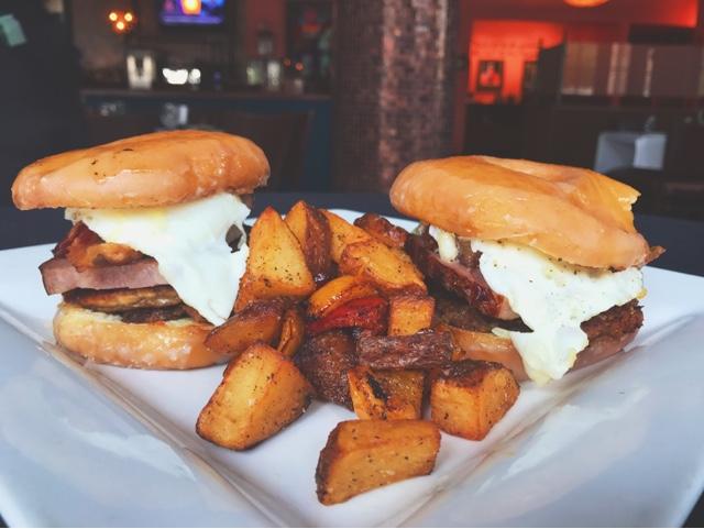 Tony Mandola's Brunch, Best Brunch in Houston, Doughnut Breakfast Sliders