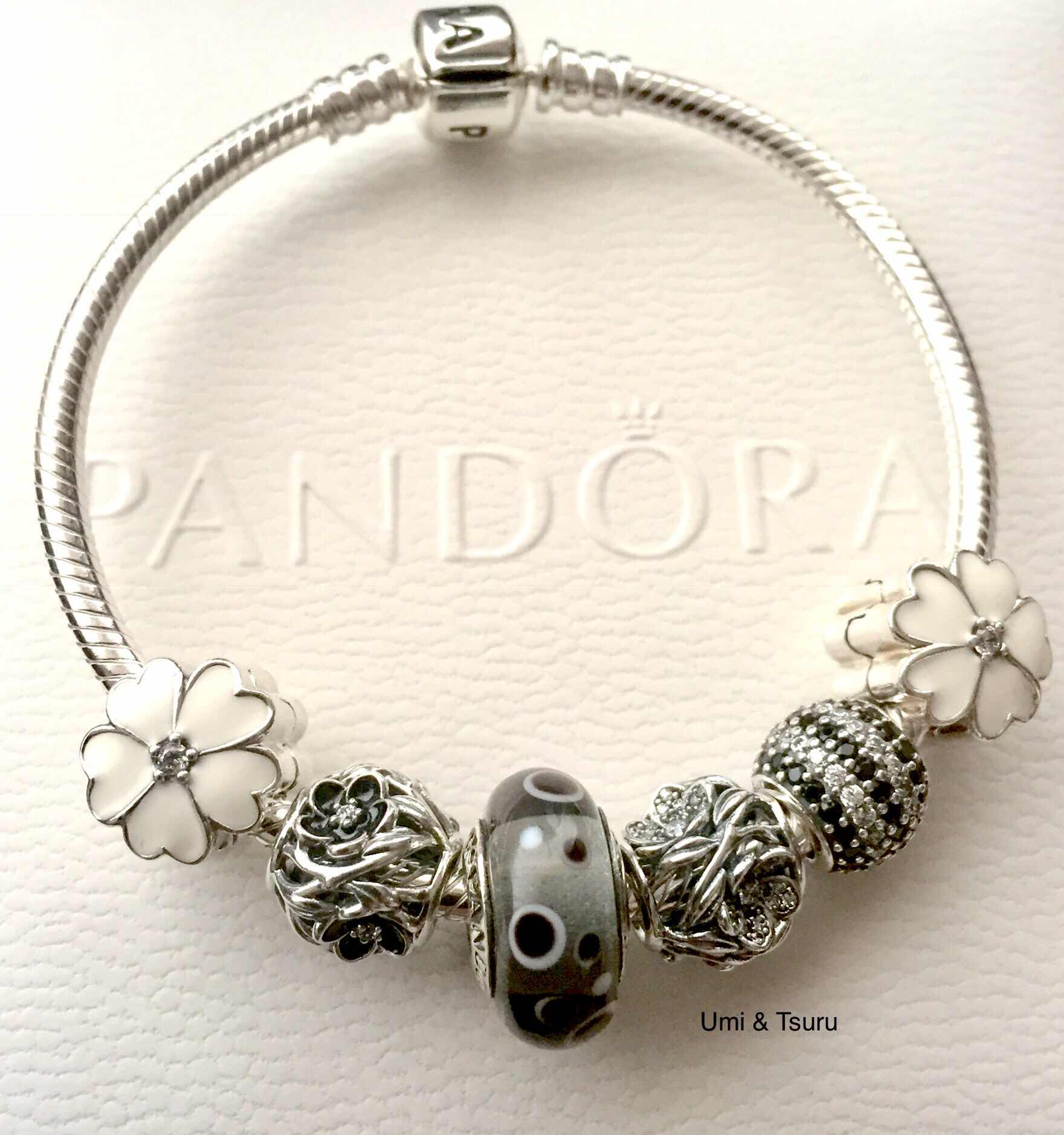 a5ddf2d88 Pandora Inner Radiance Charm,pandora outlets,pandora bracelet  jared,official From left to right Primrose silver clip with clear cz and  white enamel, ...
