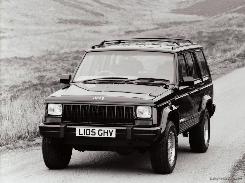 1990 Jeep Cherokee Suv Specifications Pictures Prices