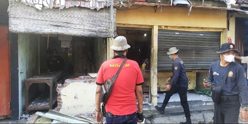 Warung Bubur Di Semarang Dibongkar Setelah Hina Satgas Covid-19 Di Facebook