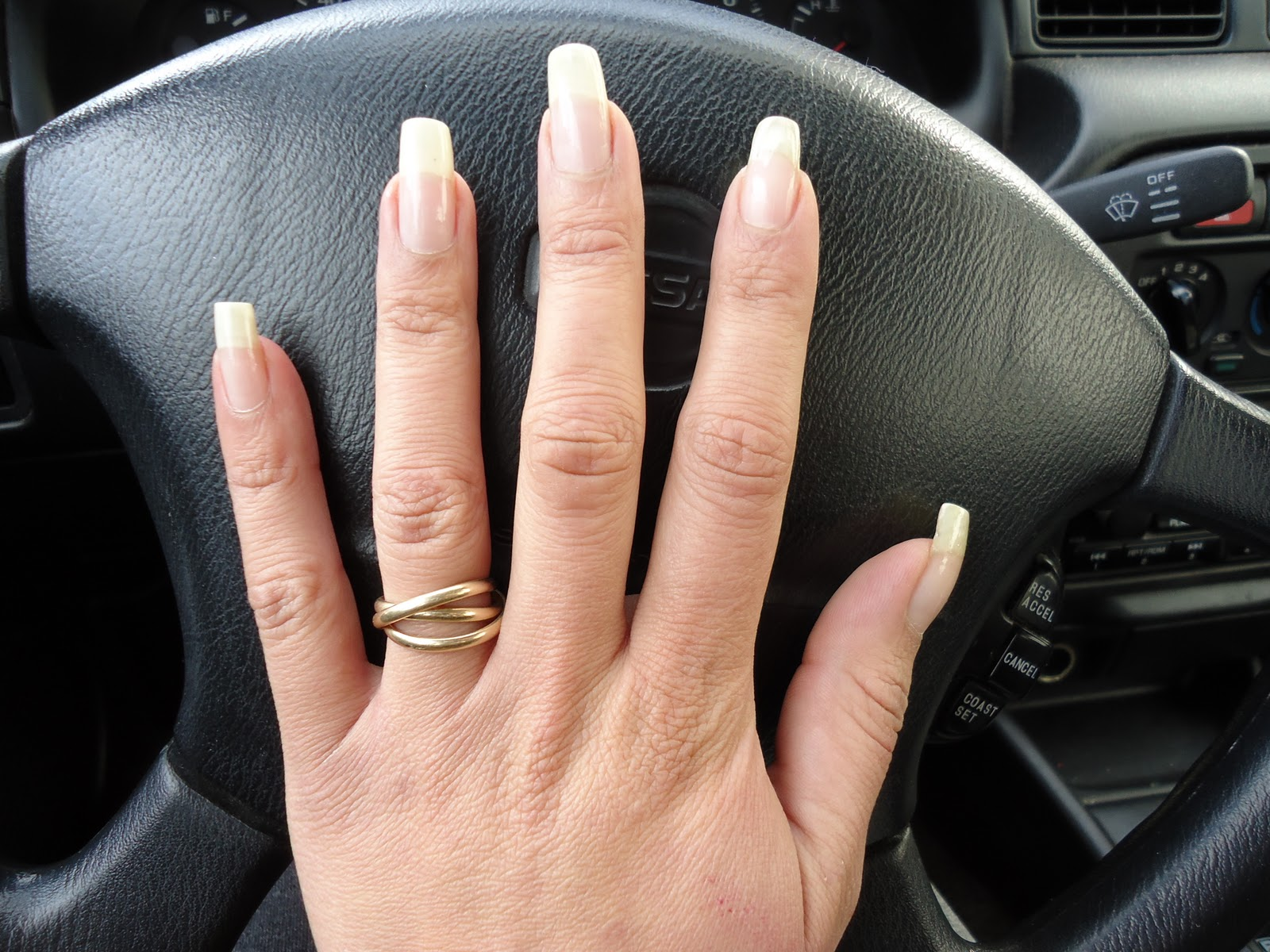 how to fix acrylic nails that are too long