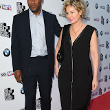 OIC - ENTSIMAGES.COM - Colin Salmon and Fiona Hawthorne at the South Bank Sky Arts Awards in London 7th June 2015 Photo Mobis Photos/OIC 0203 174 1069