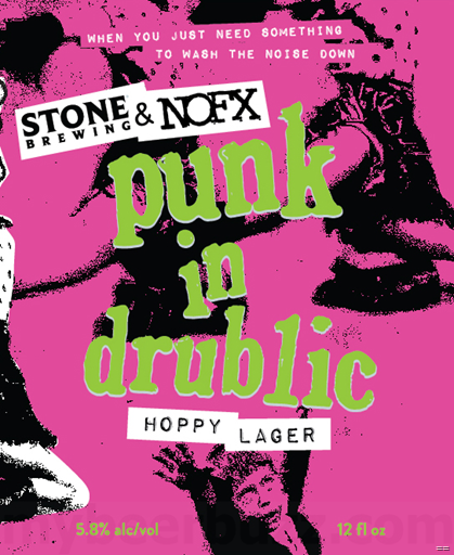 Stone & NOFX Collaborate On Punk In Drublic Hoppy Lager Cans & Bottles