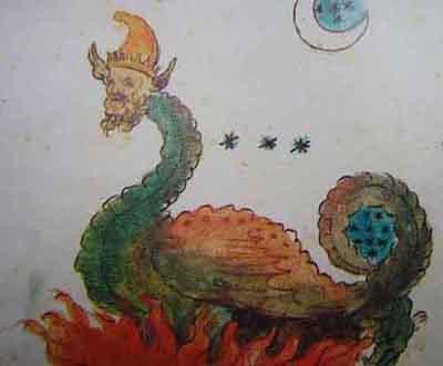 Nostradamus Book 1689 Illustration Part Two, Nostradamus