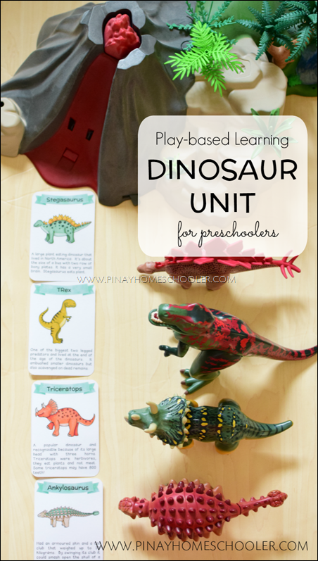 Play-based Dinosaur Activities for Preschoolers