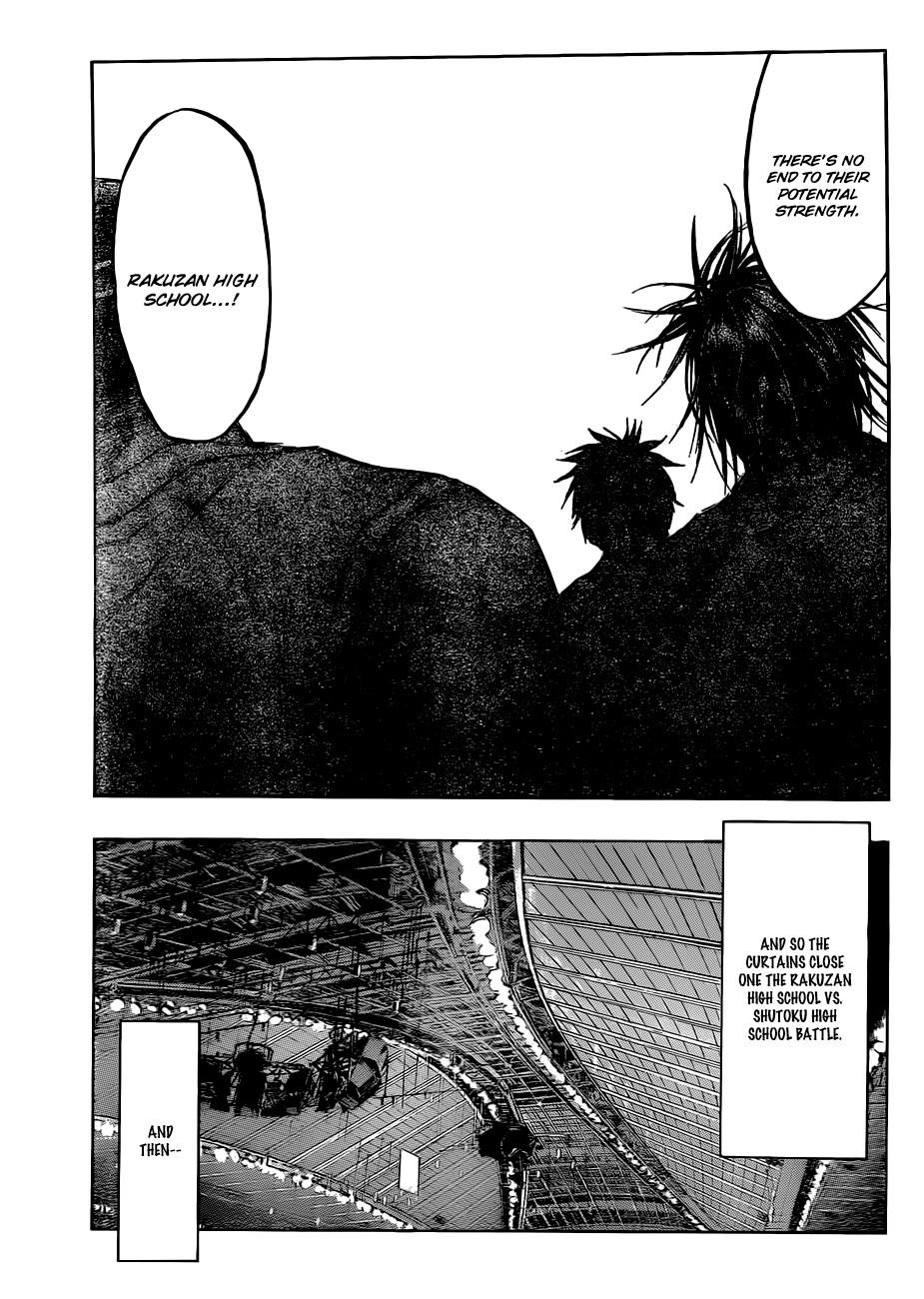 Kuroko no Basket Manga Chapter 183 - Image 11
