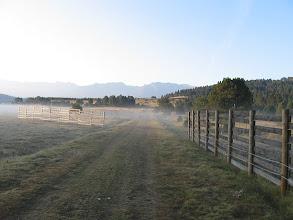 Photo: La brume au départ