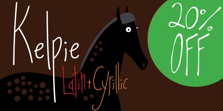 Download Kelpie Font Family From Olga Umpeleva