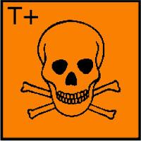 Very toxic (sangat beracun)