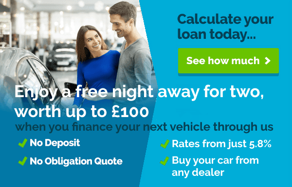 Enjoy a free night away when you finance your next car through carfinance247