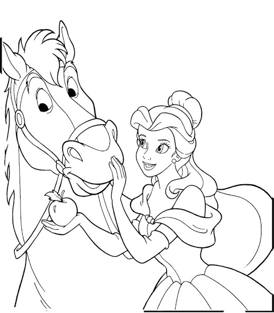 New Coloring Page  Printable Horse Coloring Pages Baby Unicorn