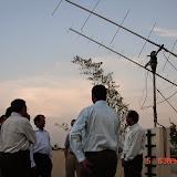 Demonstration of Amateur Radio Satellite communication to Mr Annadurai and Mr Raghavamurthy - DSC00134.JPG