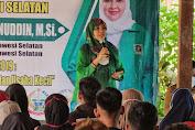 Bareng Dinas Koperasi dan UKM Soppeng, Legislator Sulsel Andi Nurhidayati Sosialisasi Perda Nomor 7 Tahun 2019