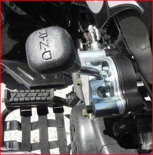 150cc Automatic Sports Quad - Gear Selector Forward Neutral Reverse