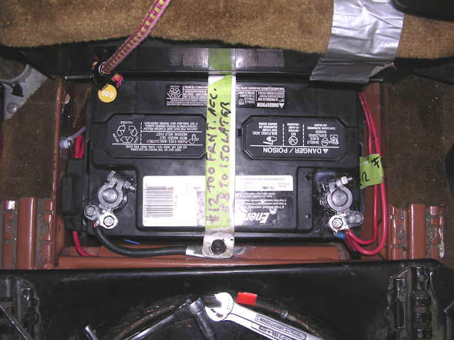 TheSamba  Vanagon - View topic - Simplest Auxiliary Battery