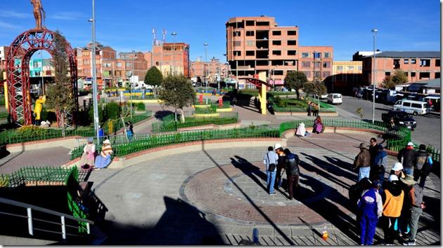 Santiago II (1972): zona del Distrito 2 de El Alto