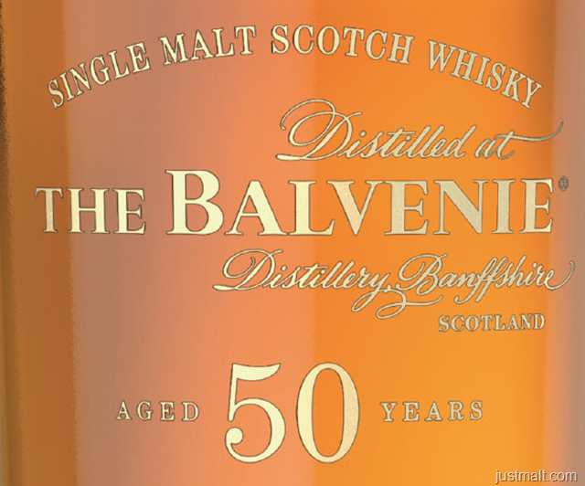 The Balvenie Single Malt Scotch Whiskey 50-Year
